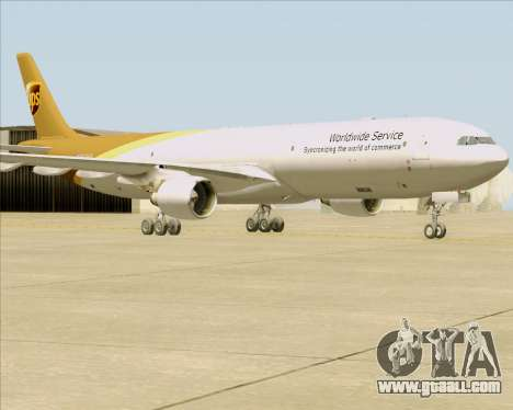 Airbus A330-300P2F UPS Airlines for GTA San Andreas left view