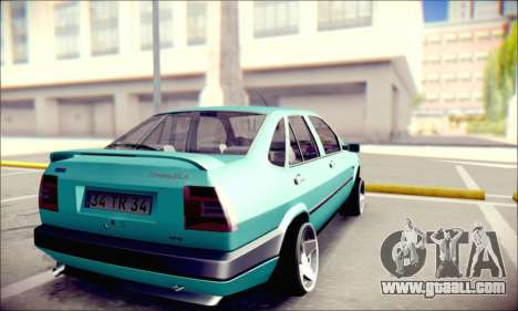 Fiat Tempra TR for GTA San Andreas back left view