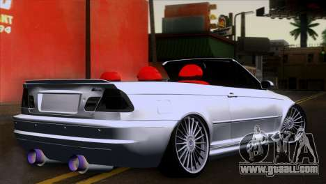 BMW M3 E46 Cabrio for GTA San Andreas left view