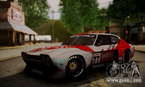 Ford Capri RS Cosworth 1974 Skinpack 4 for GTA San Andreas right view