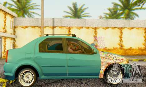 Dacia Logan 1.6 MPI Tuning for GTA San Andreas left view