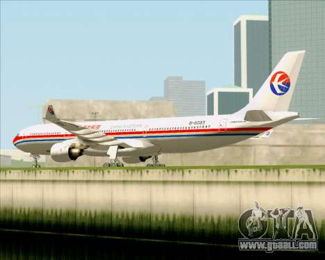 Airbus A330-300 China Eastern Airlines for GTA San Andreas back view