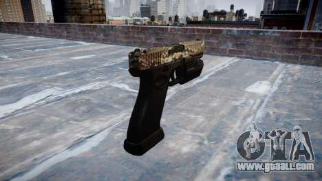 Pistol Glock 20 viper for GTA 4 second screenshot