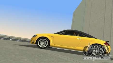 Audi TT Coupe BiMotor Black Revel for GTA Vice City