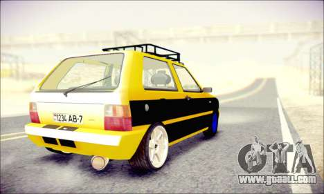 Fiat Uno for GTA San Andreas left view