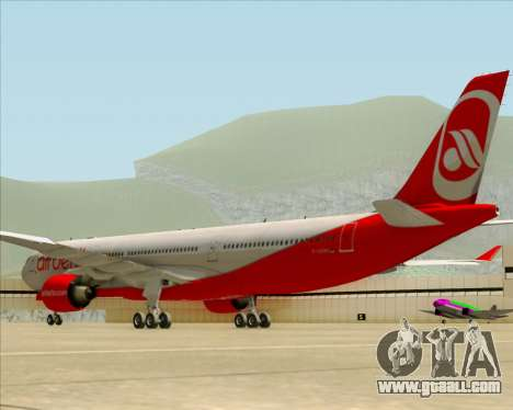 Airbus A330-300 Air Berlin for GTA San Andreas back view