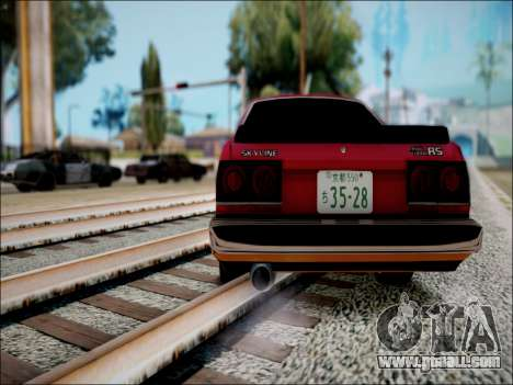 Nissan Skyline GT-R R30 for GTA San Andreas right view