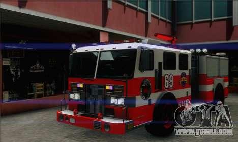SAFD BRUTE Firetruck for GTA San Andreas