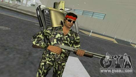 Camo Skin 03 for GTA Vice City