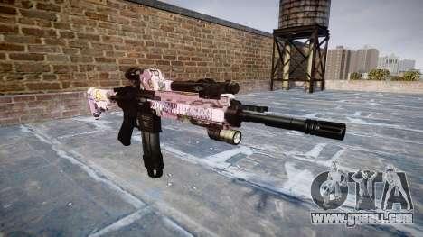 Automatic rifle Colt M4A1 kawaii for GTA 4