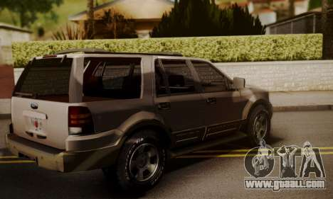 Ford Expedition 2006 for GTA San Andreas left view