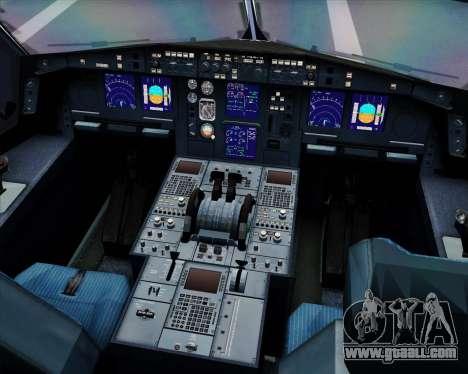 Airbus A330-300 LTU International for GTA San Andreas interior