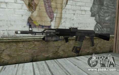 AK-101 with secure our (Battlefield 2) for GTA San Andreas