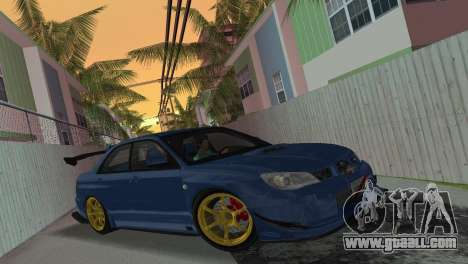 Subaru Impreza WRX STI 2006 Type 2 for GTA Vice City
