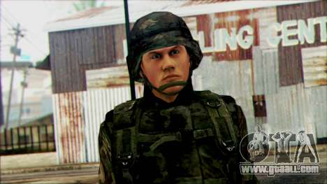 Soldiers of the National guard of the U.S. (WIC) for GTA San Andreas third screenshot