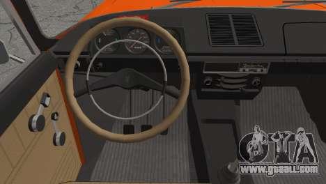 AZLK 412 v2 for GTA San Andreas back left view