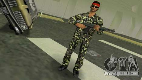Camo Skin 03 for GTA Vice City second screenshot