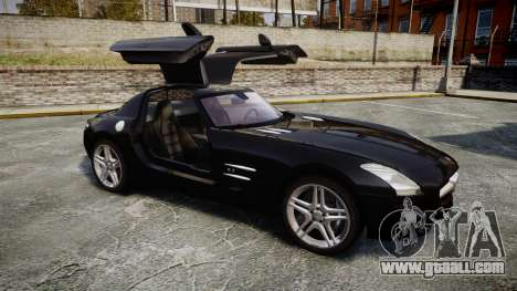 Mercedes-Benz SLS AMG [EPM] for GTA 4 inner view
