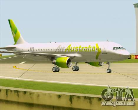 Airbus A320-200 Air Australia for GTA San Andreas wheels