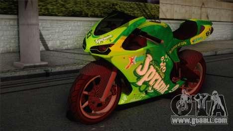 Bati RR 801 Sprunk for GTA San Andreas