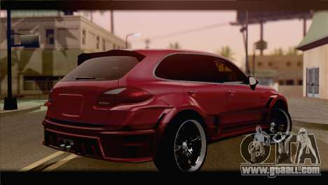 Porsche Cayenne for GTA San Andreas left view