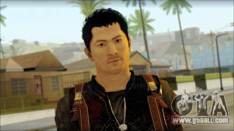 Wei Shen From Sleeping Dogs for GTA San Andreas third screenshot