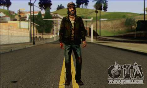 Kenny from The Walking Dead v3 for GTA San Andreas