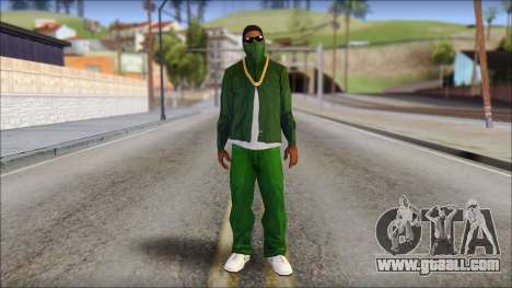 New CJ v4 for GTA San Andreas
