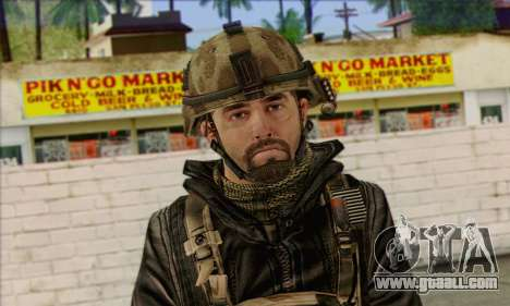 Task Force 141 (CoD: MW 2) Skin 14 for GTA San Andreas third screenshot