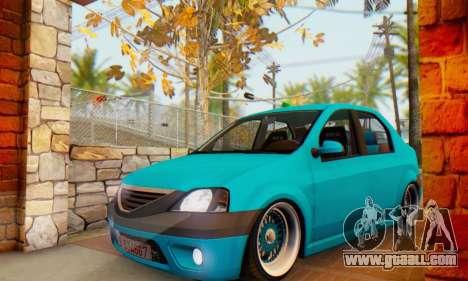 Dacia Logan Elegant for GTA San Andreas