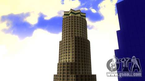 HD texture four skyscrapers in Los Santos for GTA San Andreas fifth screenshot