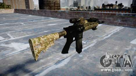 Automatic rifle Colt M4A1 devgru for GTA 4 second screenshot