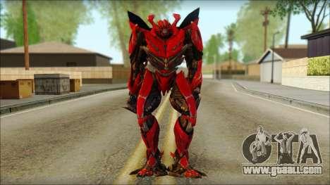 Dino Mirage (transformers Dark of the moon) v2 for GTA San Andreas