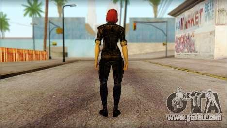 Mass Effect Anna Skin v5 for GTA San Andreas second screenshot