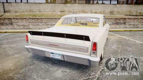 Chevrolet II Nova SS 1966 Custom [EPM] for GTA 4 back left view