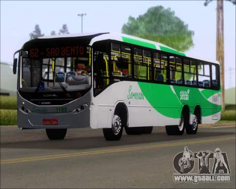 Comil Svelto BRT Scania K310IB 6x2 Sorocaba for GTA San Andreas interior
