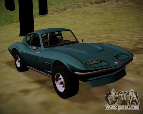 Coquette Classic GTA 5 DLC for GTA San Andreas