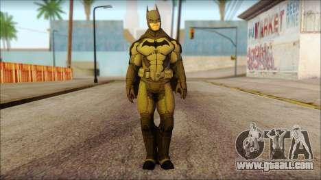 Batman From Batman: Arkham Origins for GTA San Andreas