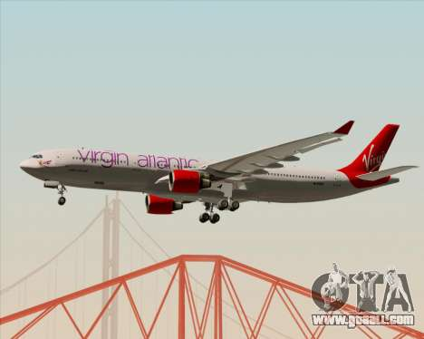 Airbus A330-300 Virgin Atlantic Airways for GTA San Andreas