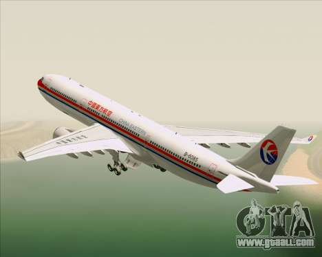Airbus A330-300 China Eastern Airlines for GTA San Andreas engine