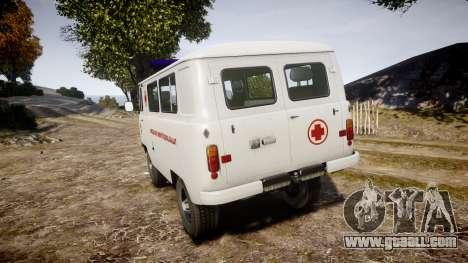 UAZ-39629 ambulance Hungary for GTA 4 back left view