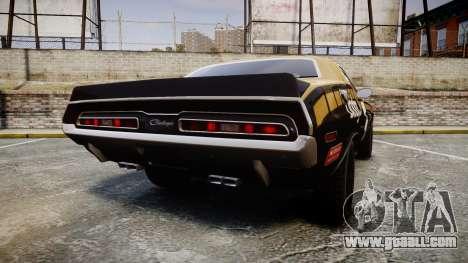 Dodge Challenger 1971 v2.2 PJ6 for GTA 4 back left view