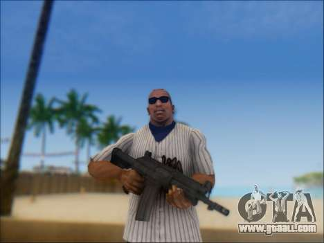 Israeli carbine ACE 21 for GTA San Andreas second screenshot
