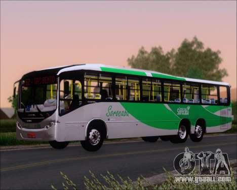 Comil Svelto BRT Scania K310IB 6x2 Sorocaba for GTA San Andreas back view