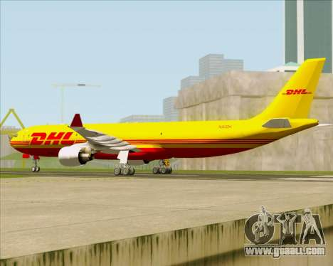 Airbus A330-300P2F DHL for GTA San Andreas right view