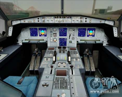 Airbus A330-300 China Eastern Airlines for GTA San Andreas interior