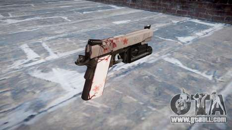Gun Kimber 1911 Cherry blossom for GTA 4 second screenshot