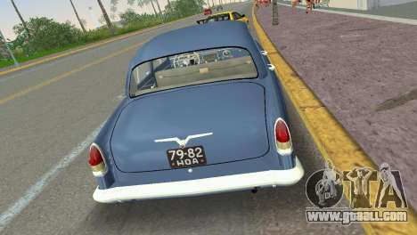 GAZ-21R Volga 1965 for GTA Vice City right view