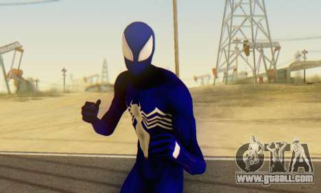 Skin The Amazing Spider Man 2 - Suit Symbiot for GTA San Andreas fifth screenshot
