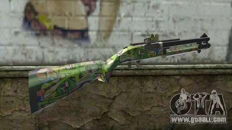 Graffiti Shotgun for GTA San Andreas second screenshot